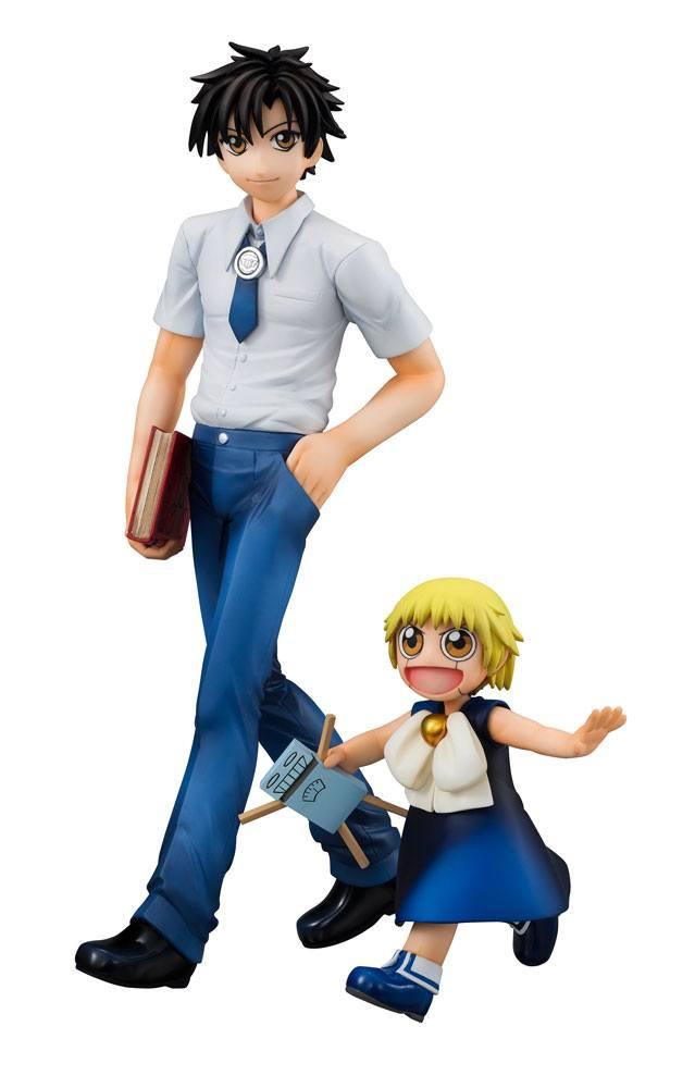 Zatch Bell! G.E.M. Series PVC Statues Zatch & Kiyomaro 9 - 20 cm