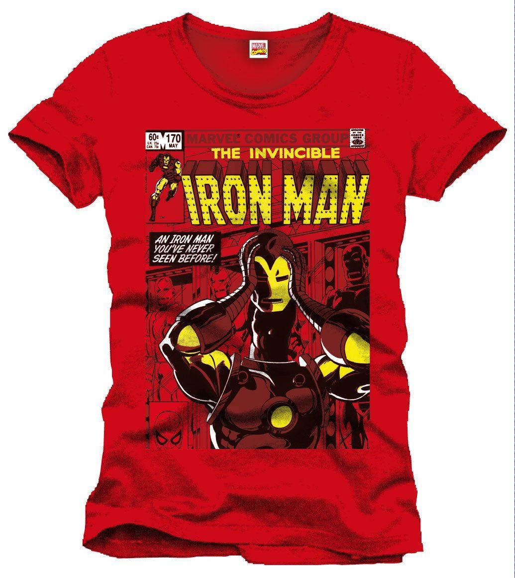 Iron Man T-Shirt Never Seen Before Size S
