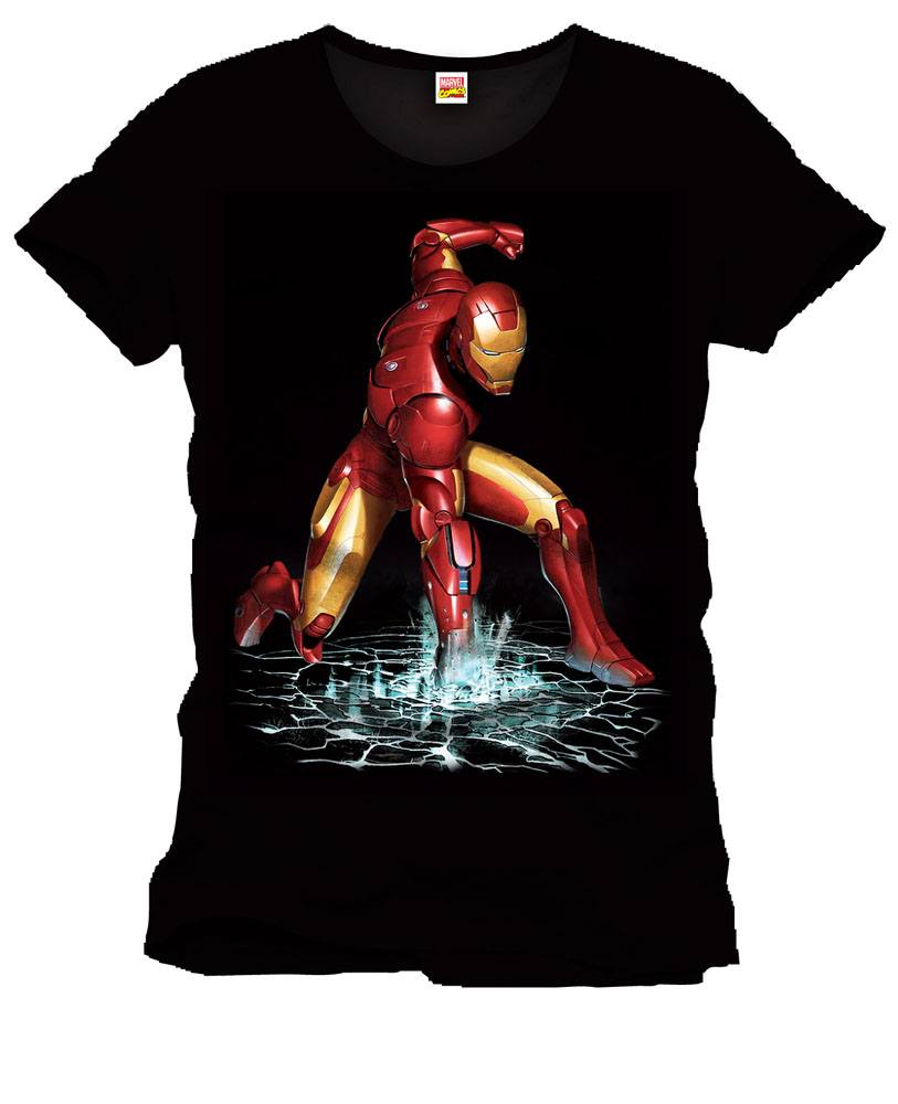 Iron Man T-Shirt Fist Size XL