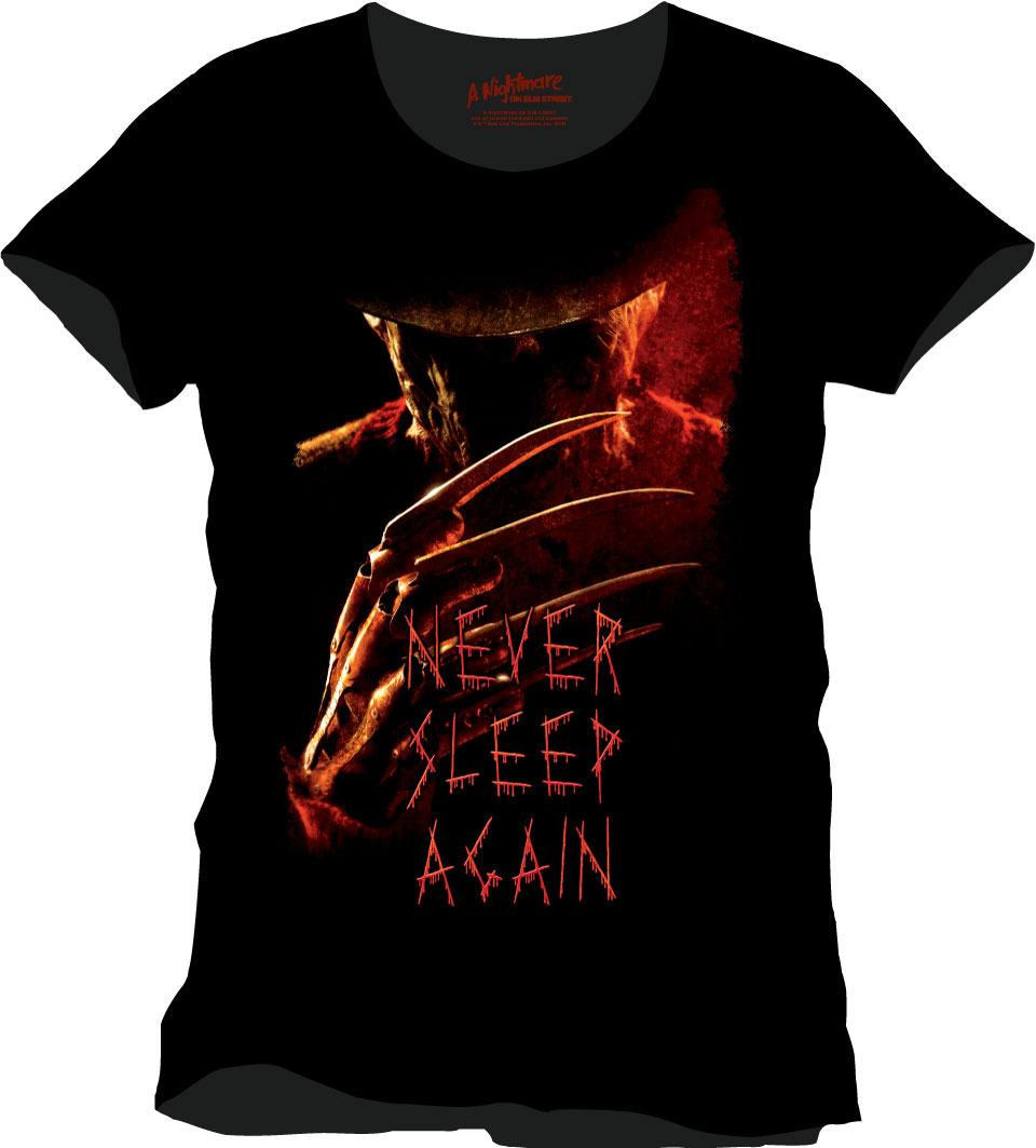 Nightmare On Elm Street T-Shirt Never Sleep Again Size M