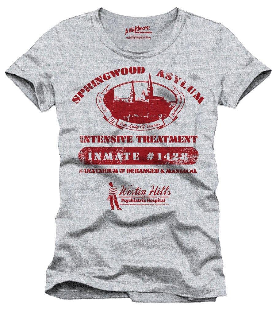 Nightmare On Elm Street T-Shirt Springwood Asylum Size L