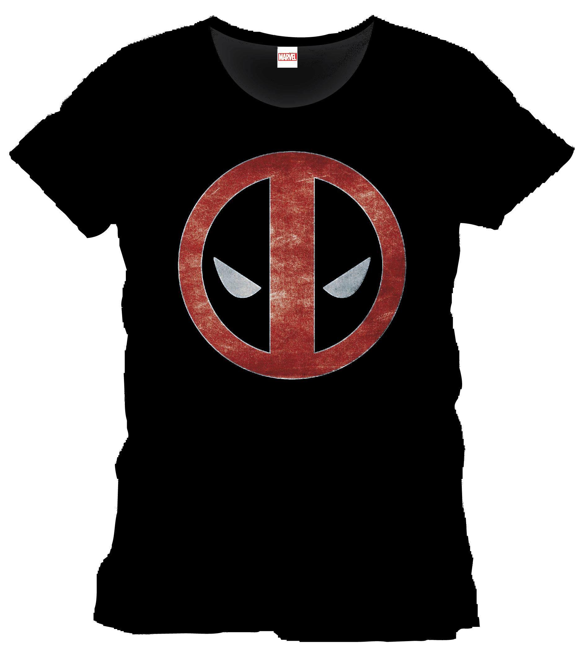 Deadpool T-Shirt Eyes Size XL