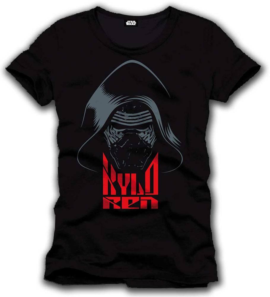 Star Wars Episode VII T-Shirt Kylo Ren Mask Size XL