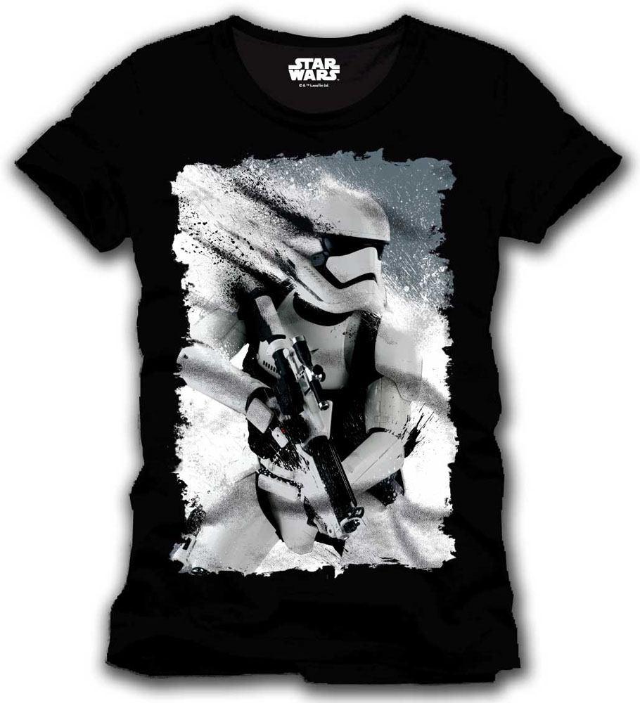 Star Wars Episode VII T-Shirt Stormtrooper Art Size M