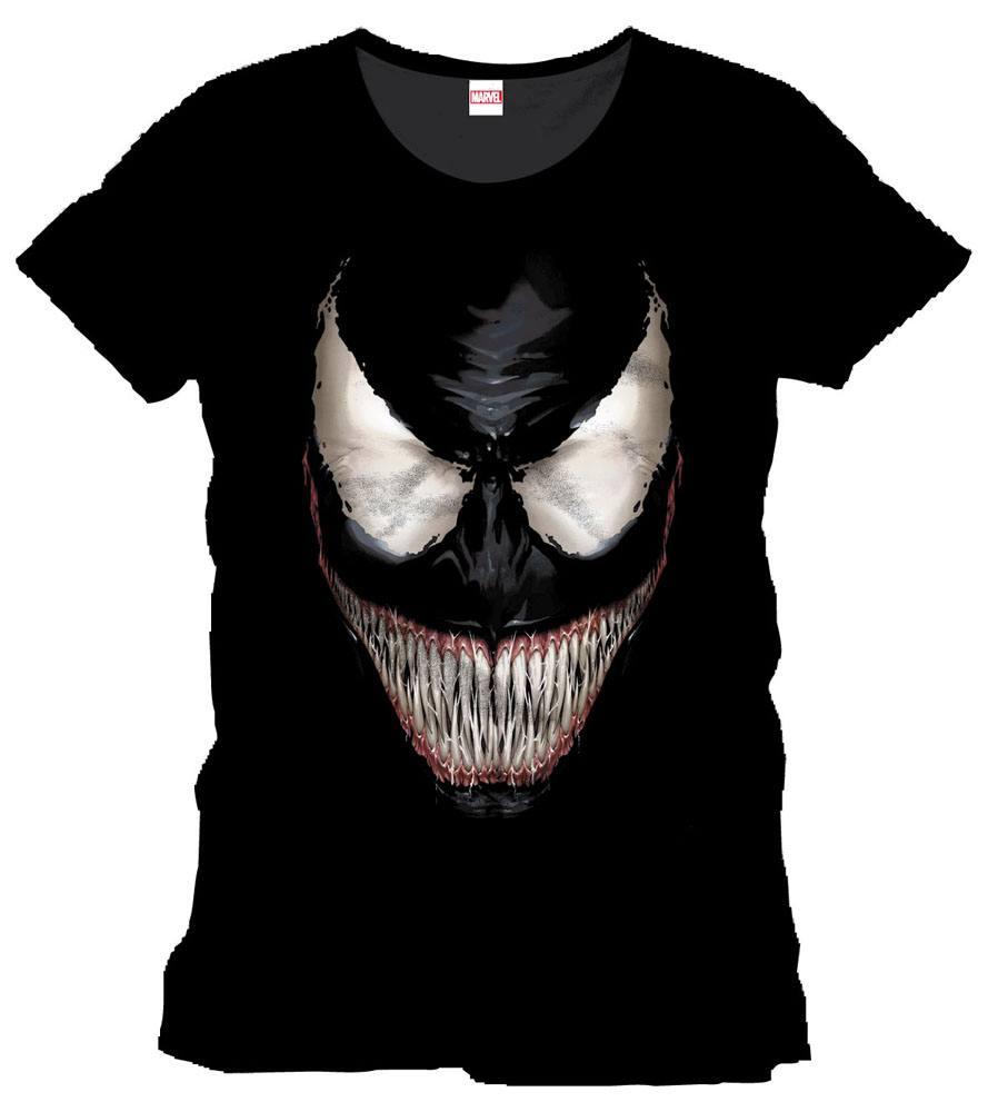 Spider-Man T-Shirt Venom Smile Size XL