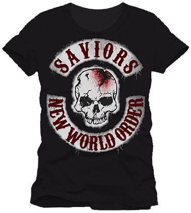 Walking Dead T-Shirt New World Order Size XL