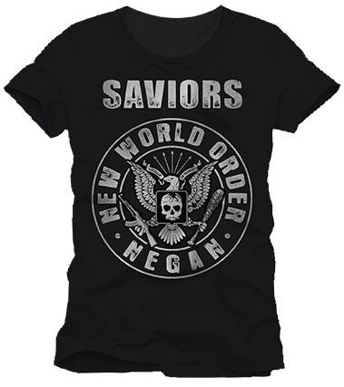 Walking Dead T-Shirt Saviors Rock Size M