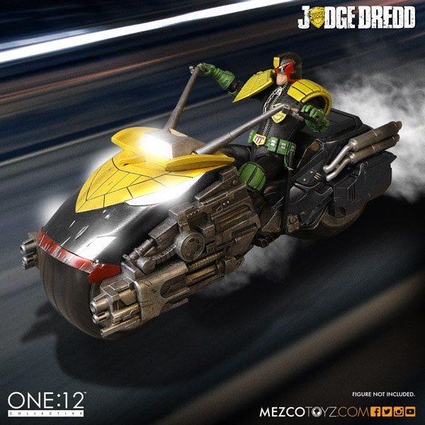 Judge Dredd Vehicle with Sound & Light Up 1/12 Judge Dredd's Lawmaster
