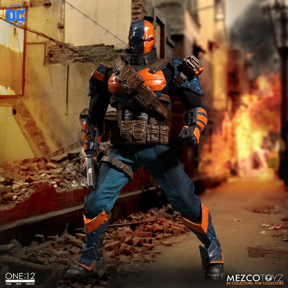 DC Comics Action Figure 1/12 Deathstroke 17 cm