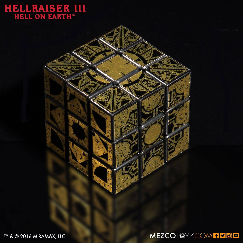 Hellraiser III Replica Lament Configuration Puzzle Cube 9 cm