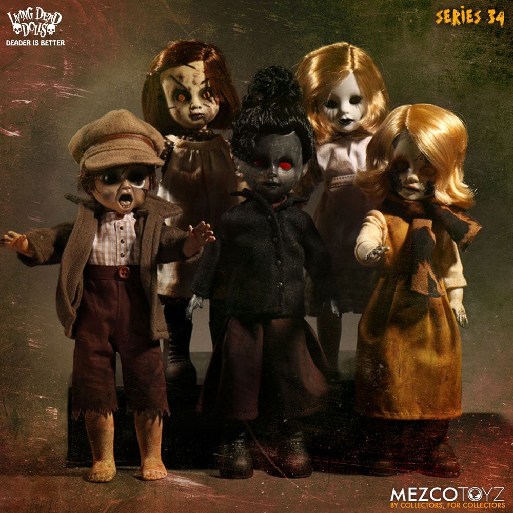 Living Dead Dolls Series 34 Dolls 25 cm The Time Has Come To Tell The Tale Assortment (5)