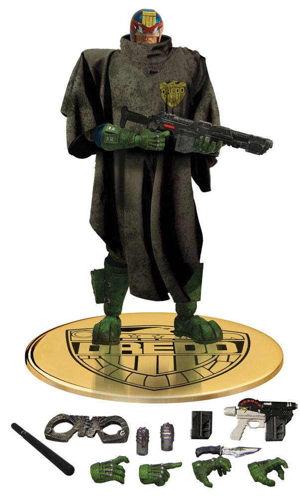 Judge Dredd Action Figure 1/12 Judge Dredd The Cursed Earth Previews Exclusive 17 cm