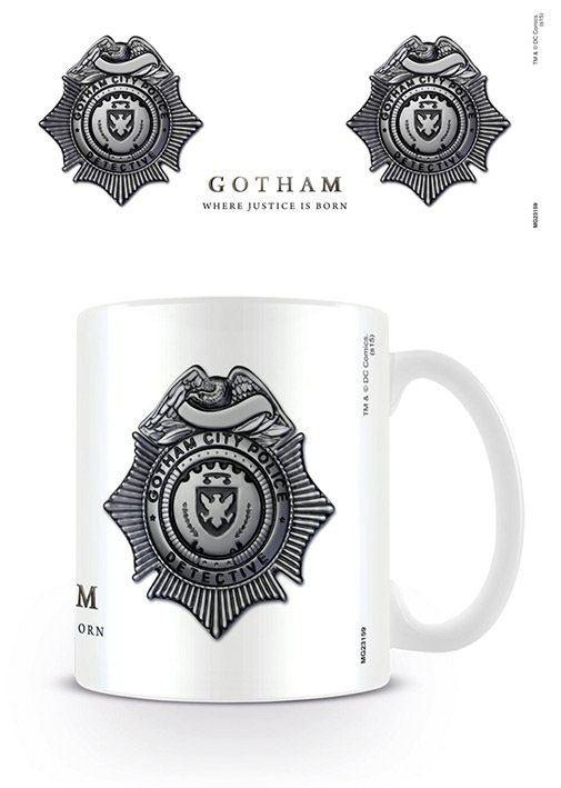 Gotham Mug GCPD Badge
