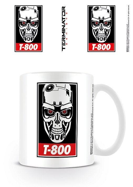 Terminator Genisys Mug Obey T-800