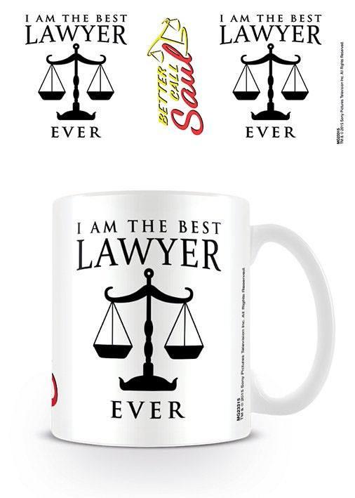 Better Call Saul Mug I Am The Best Lawyer Ever