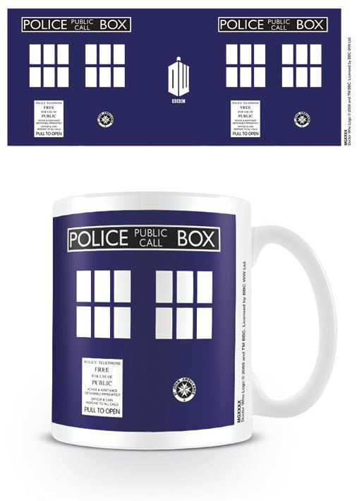 Doctor Who Mug Tardis