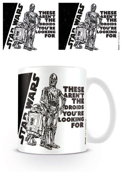 Star Wars Mug Droids