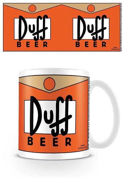 Simpsons Mug Duff Beer