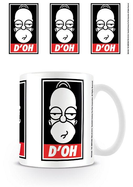 Simpsons Mug D´oh