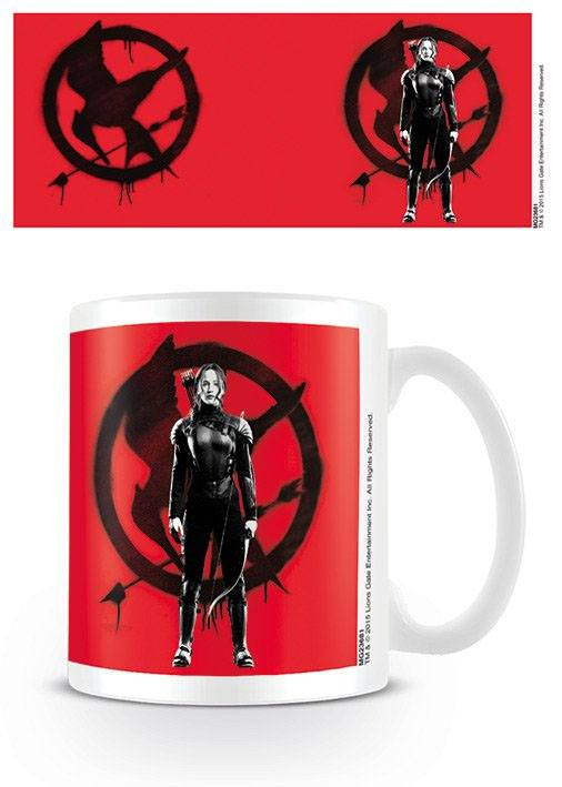 The Hunger Games Mockingjay Part 2 Mug Katniss At War