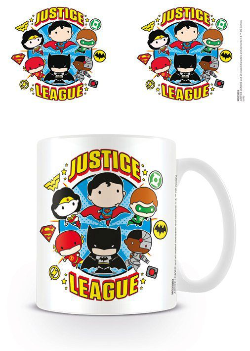 Justice League Mug Chibi Justice League