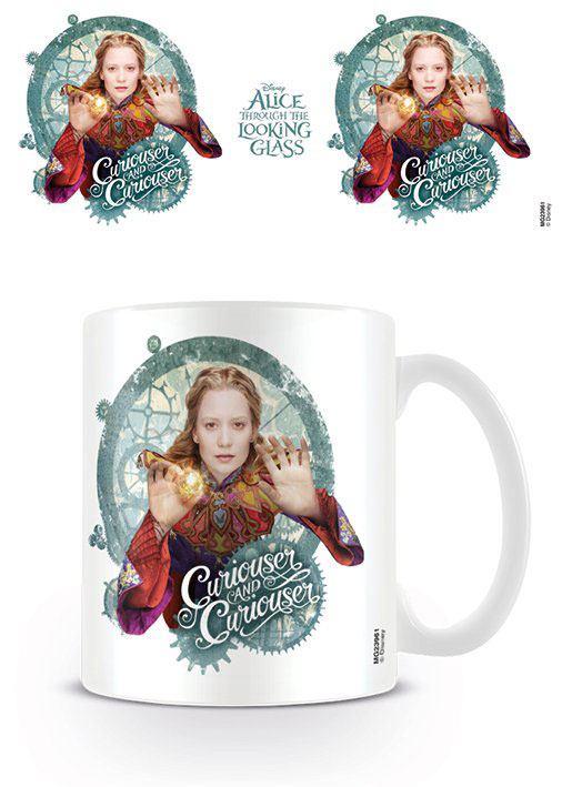 Alice Through the Looking Glass Mug Curiouser
