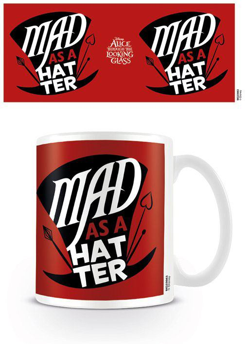 Alice Through the Looking Glass Mug Mad As A Hatter