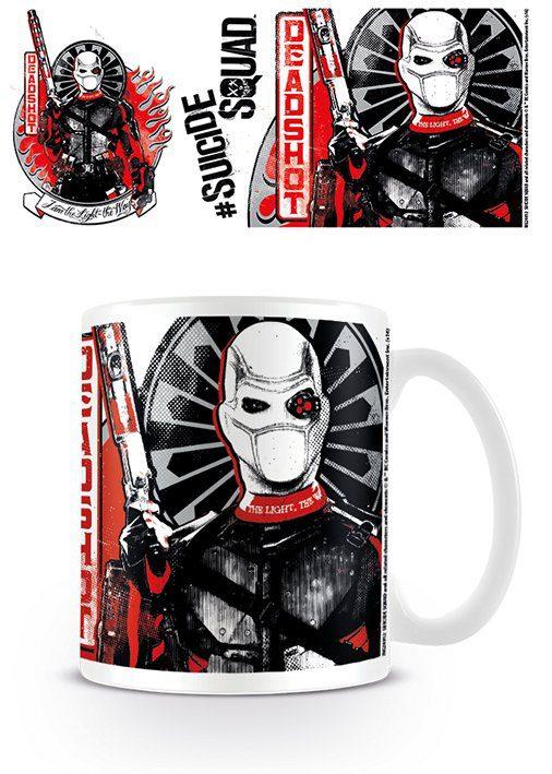 Suicide Squad Mug Deadshot Armed