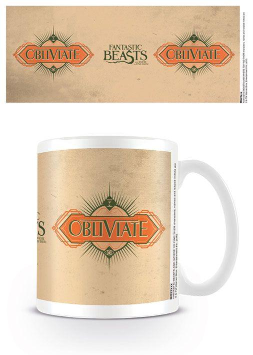Fantastic Beasts Mug Obliviate