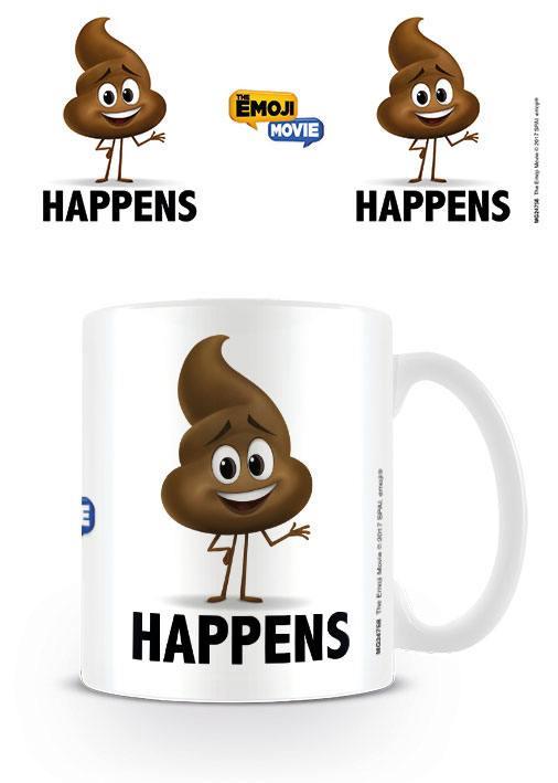 The Emoji Movie Mug Poop Happens