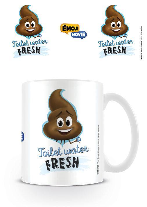 The Emoji Movie Mug Toilet Water Fresh