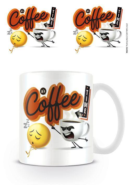 The Emoji Movie Mug Coffee Time