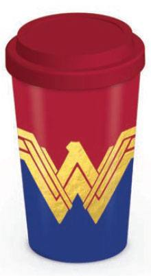 Wonder Woman Travel Mug Emblem