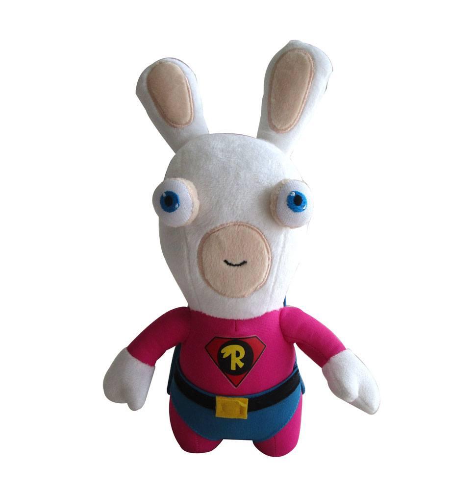 Raving Rabbids Plush Figure Superhero 28 cm