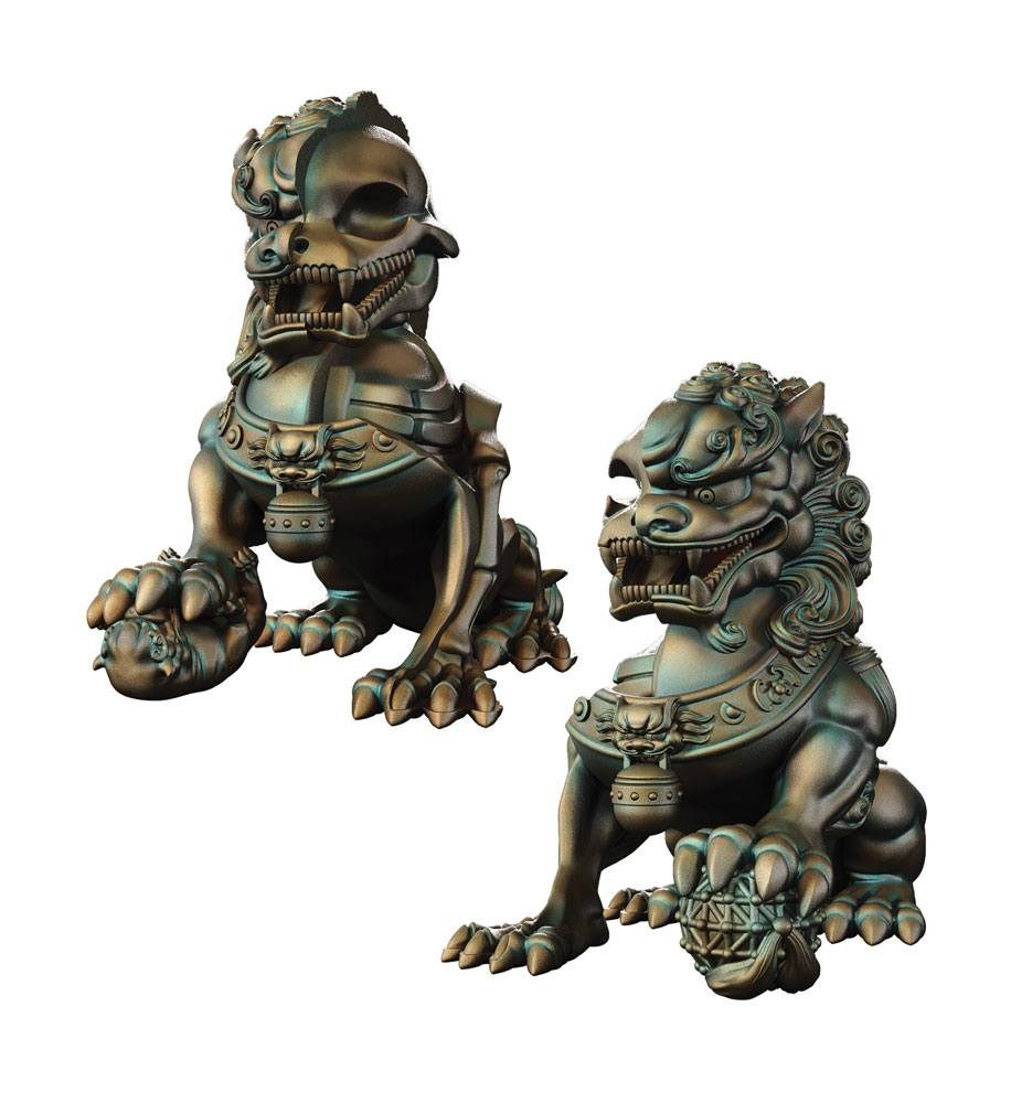 Myth & Legends Series XXRAY PLUS Figure 2-Pack Foo Dogs 20 cm