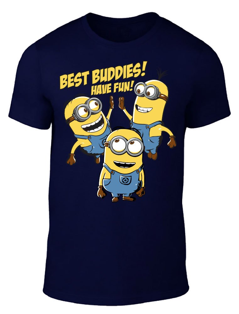 Minions T-Shirt Best Buddies Size XL