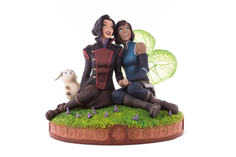 The Legend of Korra Statue Korra & Asami in the Spirit World 22 cm