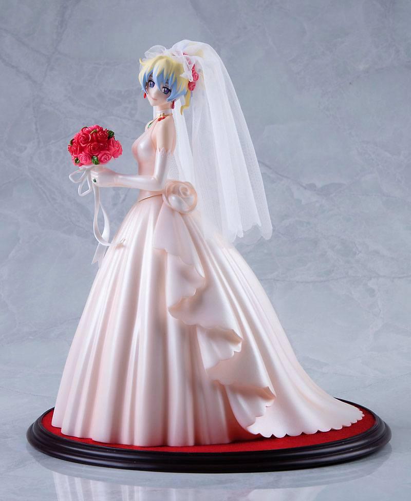 Tengen Toppa Gurren Lagann PVC Statue 1/8 Nia Teppelin Wedding Dress Version 26 cm