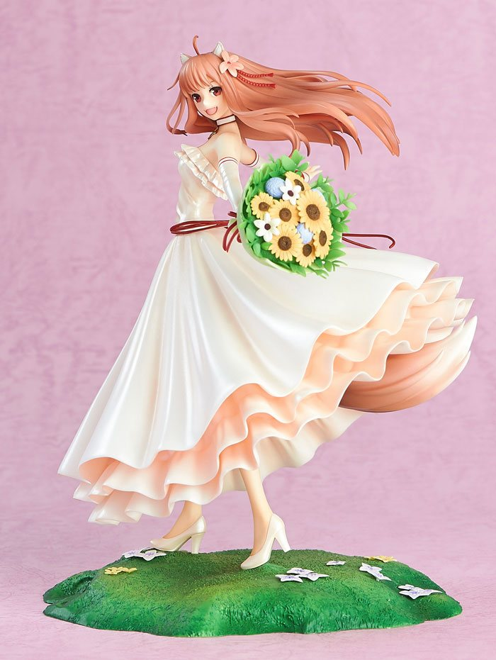 Spice and Wolf PVC Statue 1/8 Holo Wedding Dress Ver. 24 cm
