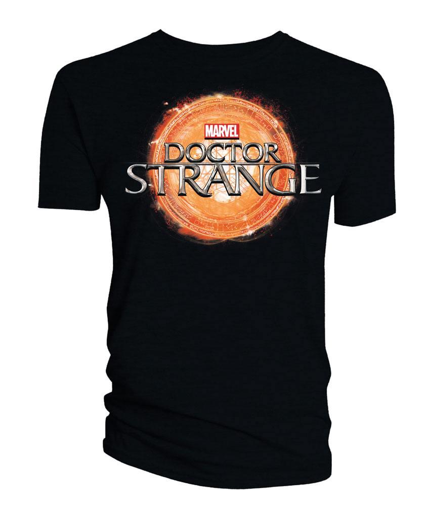 Doctor Strange T-Shirt Logo black Size XL