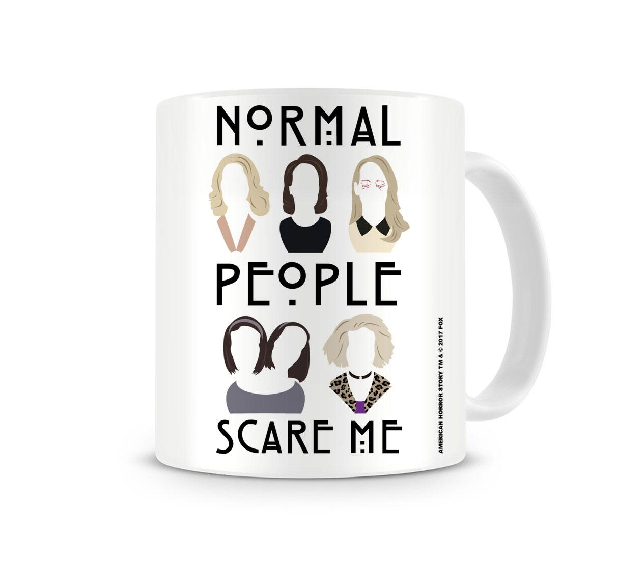 American Horror Story Mug Normal People Scare Me