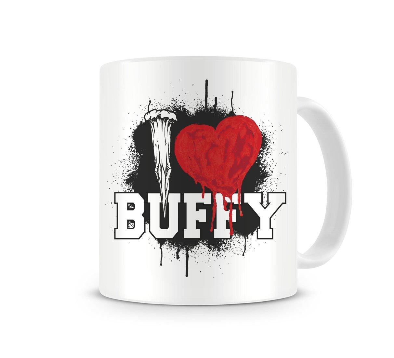 Buffy the Vampire Slayer Mug I Love School