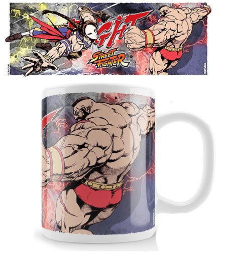 Street Fighter Mug Vega Fight Zangief