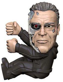 Terminator Genisys Scalers Figure Guardian T800 5 cm