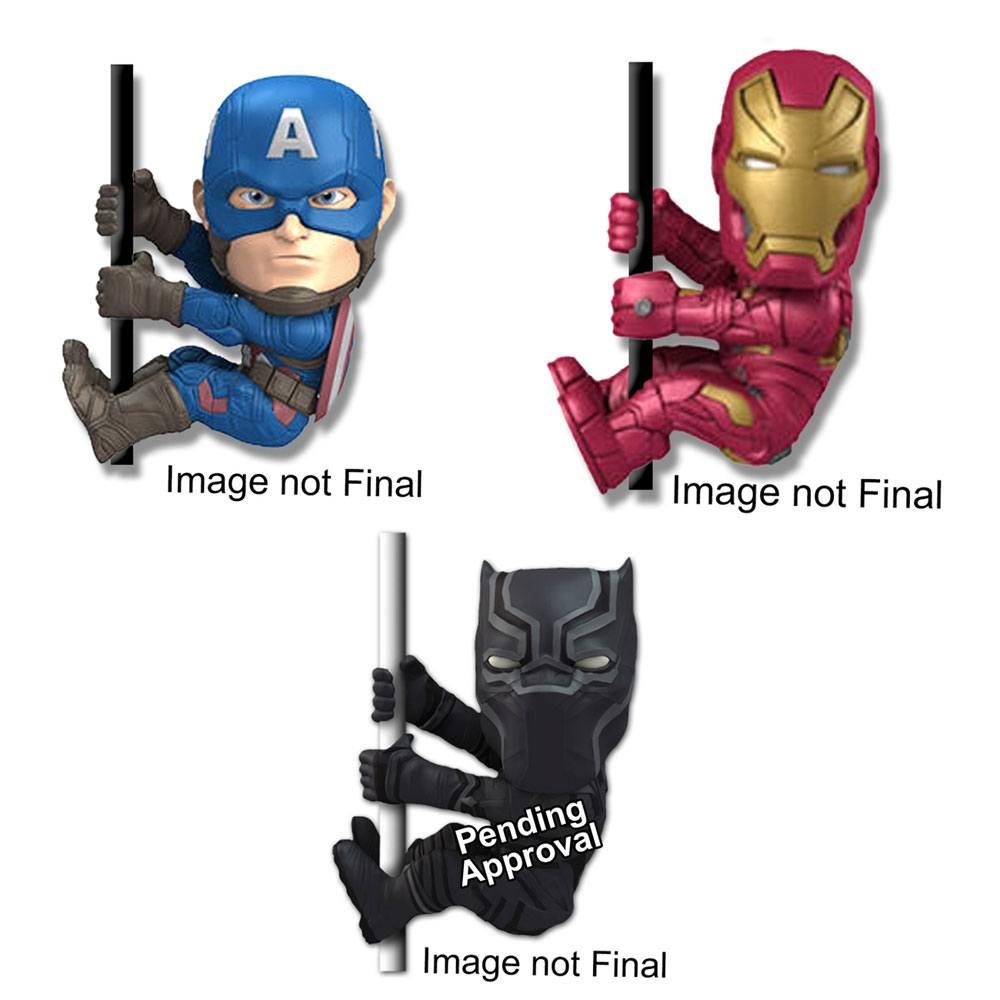 Captain America Civil War Scalers Mini Figures 5 cm Assortment (48)