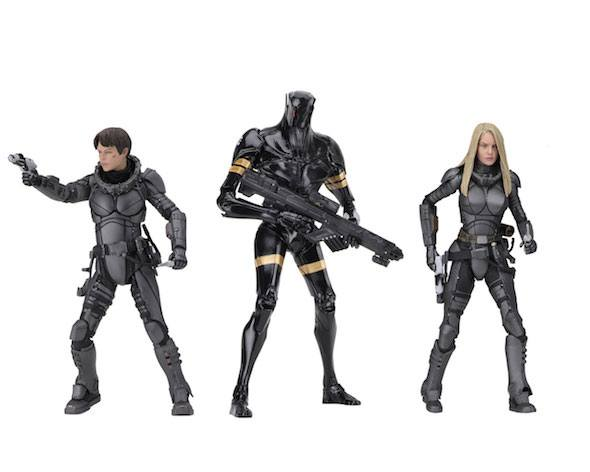 Valerian and the City of a Thousand Action Figures 20 cm Series 1 Assortment (14)