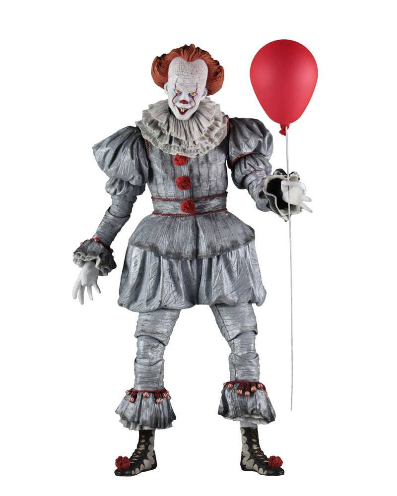 Pennywise Bill Skarsgard Stephen King's It 2017 1/4 Action Figure by NECA