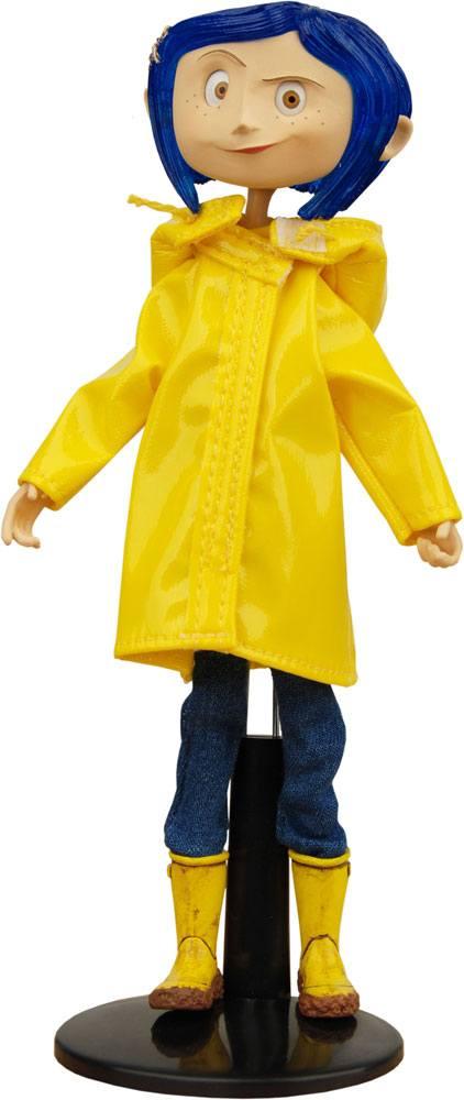 NECA Coraline Biegefigur Raincoats & Boots 18 cm YZhShW