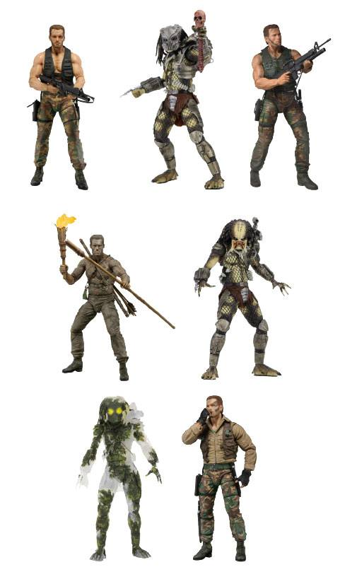 Predator Action Figures 20 cm 30th Anniversary Assortment (14)