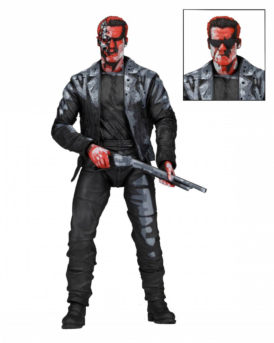 Terminator 2 Judgment Day Action Figure T-800 Video Game Appearance 18 cm